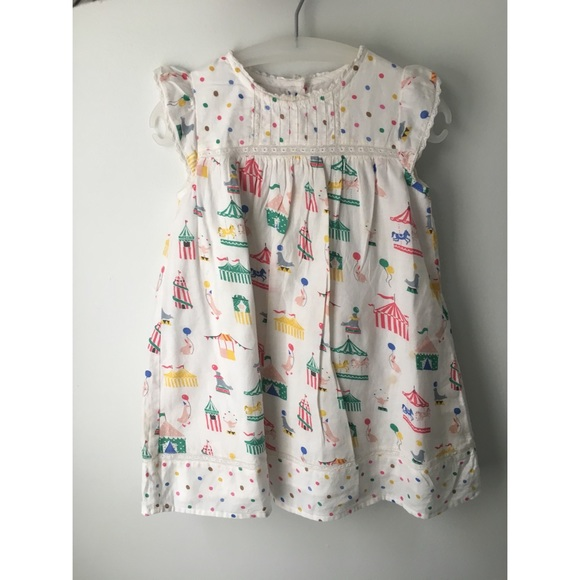 f1ce40f33 Mini Boden Dresses | Boden Girls Dress With Circus Print | Poshmark